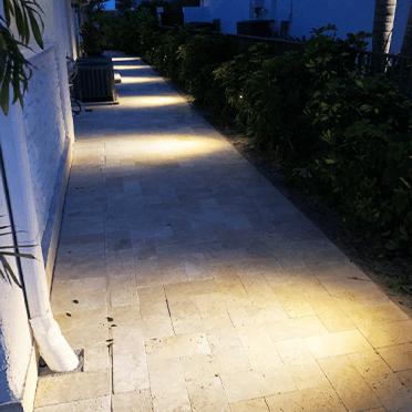 boca landscape lighting work 3